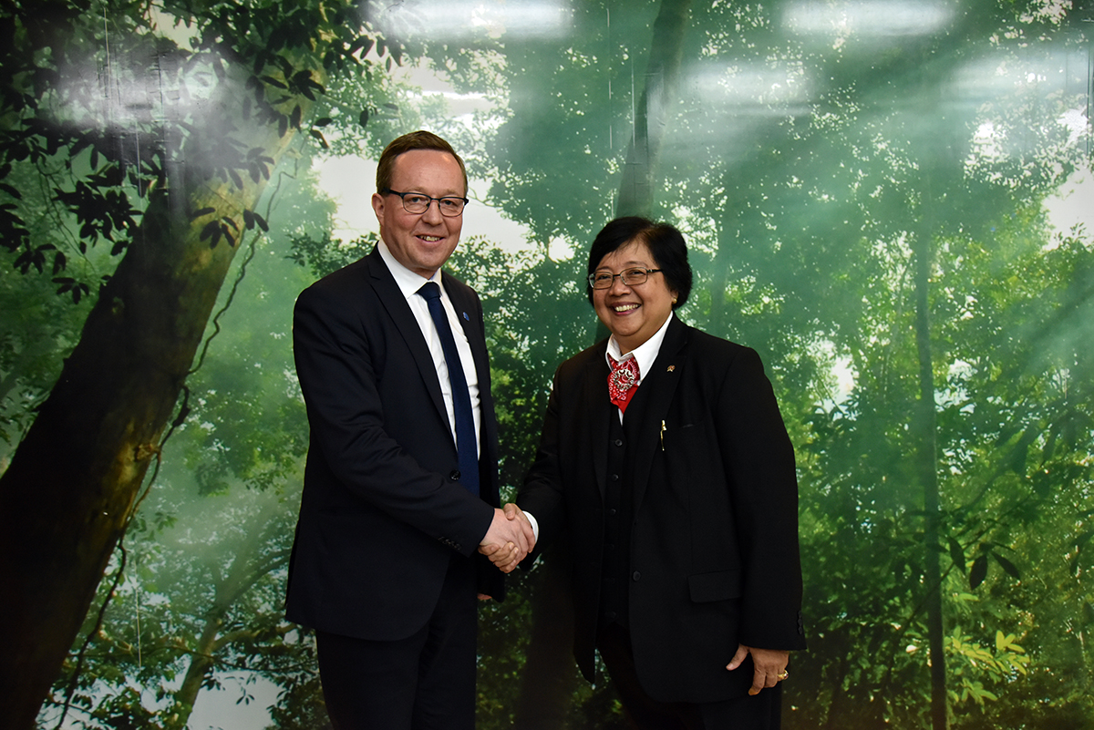 Indonesia - Finlandia bahas kerjasama pengelolaan sampah menjadi energi